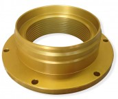 4-Inch Aircraft Lavatory Coupler Stow Flange