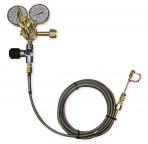 1-Bottle Oxygen Regulator Pressure System