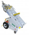 AERO 2-Bottle Aircraft Oxygen or Nitrogen Service Cart Trailer