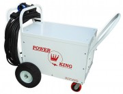 Side View: Power King 3-Phase 28V DC Aircraft Rectifier