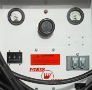 Control Panel: Power King 3-Phase 28V DC Aircraft Rectifier