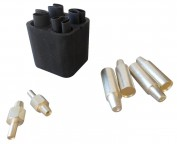 1/0 AC GPU Aircraft Connector Plug Contact Kit
