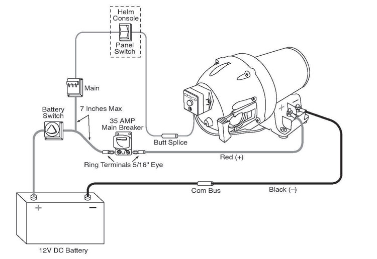 12 volt positive ground wiring diagram