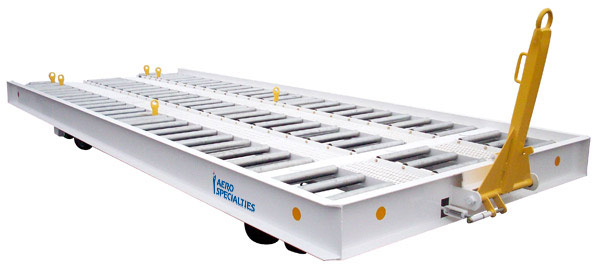 2625 20 Roller Bed Pallet Trailer Aero Specialties