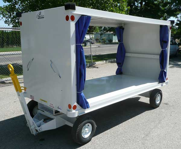 Par-Kan CBC-5010 Closed Baggage Cart - AERO Specialties