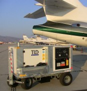 Side View 2: TLD GPU-28-CUP 28V DC Diesel Aircraft Ground Power Unit (GPU)