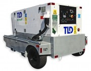 Rear View: TLD GPU-409-E-CUP-28 90 kVA Diesel Aircraft Ground Power Unit