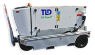 Side View: TLD GPU-409-E-CUP-28 90 kVA Diesel Aircraft Ground Power Unit