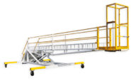 AERO 5'-23' Over Wing Aircraft Maintenance Stand