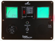 Digital Control Panel allows for precise operation without the parallax caused by analog meters