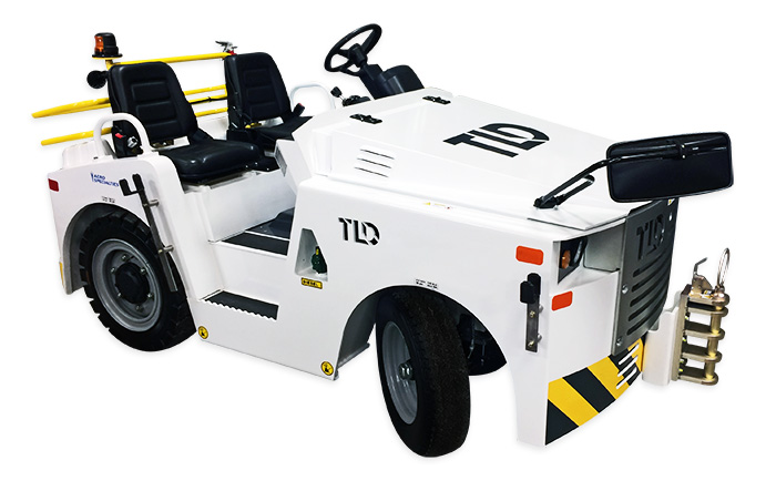 TLD JST-30 Baggage/Cargo Tow Tractor (Diesel, Gas) - AERO Specialties