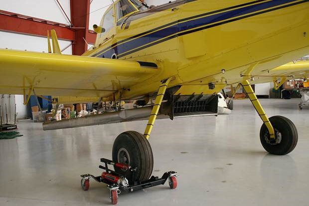 What Is Towing Capacity >> Iron Tire Aircraft Flat Tire Dolly (18,000 lbs. Capacity) - AERO Specialties