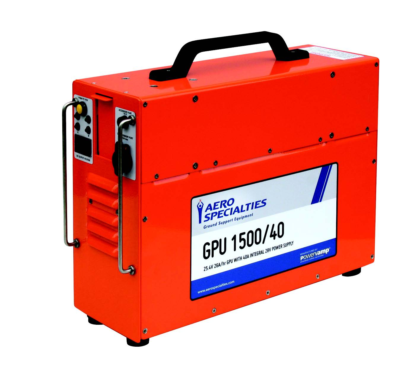 AERO Specialties GPU-1500/40 24V Portable Ground Power Unit