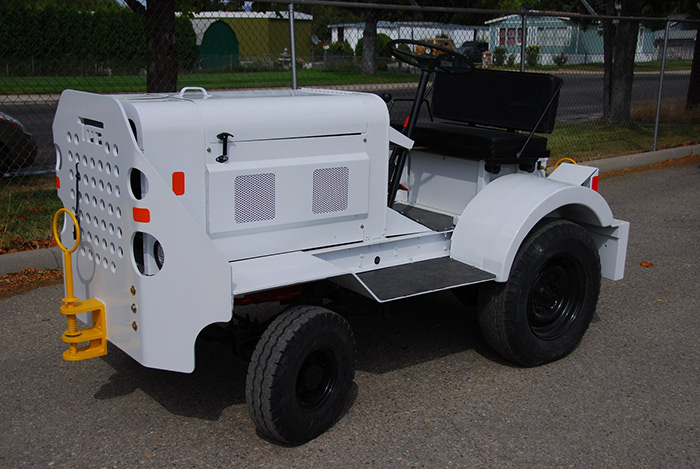 Diesel Operated Tow Tractor : Tug ma diesel tow tractor dbp zero time