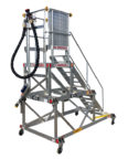 AERO Specialties 92112 Dual-Level Aircraft Fueling Stand