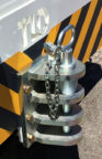 TLD TMX-50 Hitch, 3-Level Pin Type (Used)