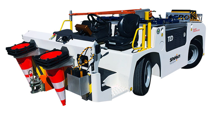 TLD TMX-TTV Aircraft Towing Tractor Package - AERO Specialties