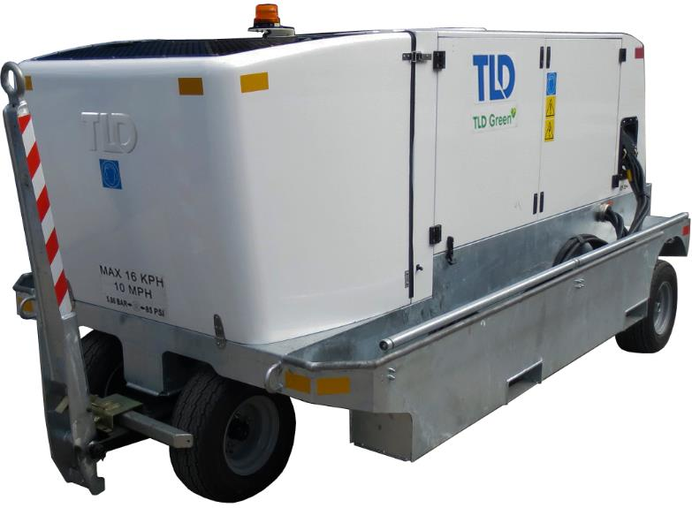 Rental: TLD GPU-412-E-CUP-28 Combo AC/DC Ground Power Unit